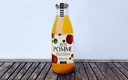 Packaging, Jus de Pomme