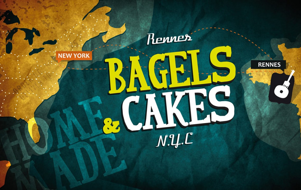 Bagels & Cakes - Flyer